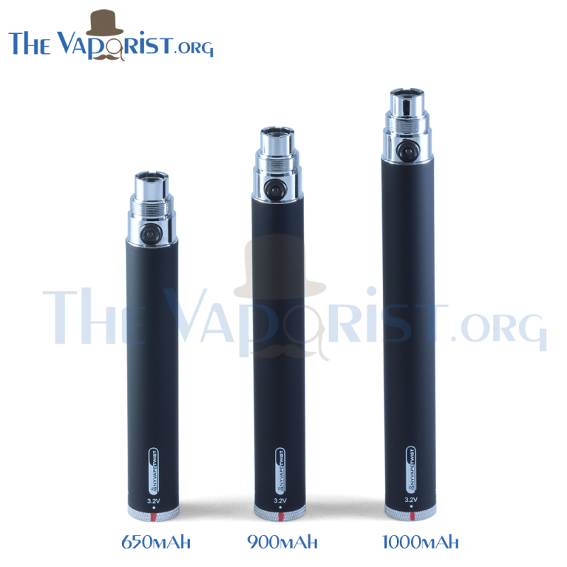 AnyVape eGo-Twist 650mAh Battery (Clearance)